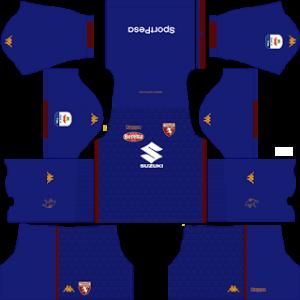 Dream League Soccer Torino goalkeeper away kit 2018 - 2019