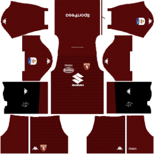Dream League Soccer Torino home kit 2018 - 2019