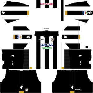 Dream League Soccer Udinese home kit 2018 - 2019
