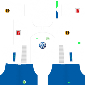 Dream League Soccer Wolfsburg away kit 2018 - 2019