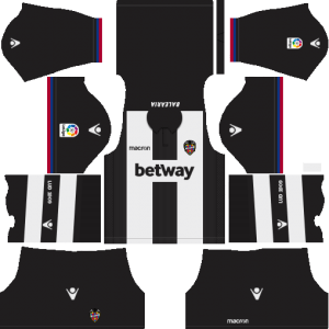 Dream League Soccer Levante UD away kit 2018 - 2019