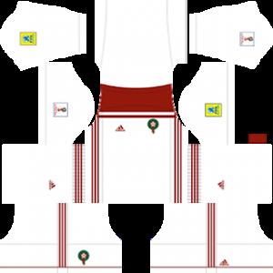 Dream League Soccer Morocco Away kit 2018 - 2019
