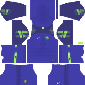 Dream League Soccer Nigeria goalkeeper home kit 2018 - 2019