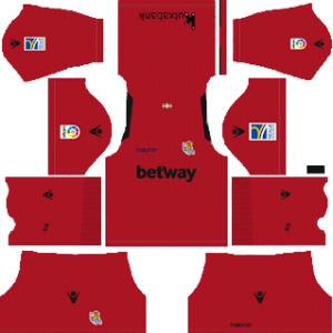 Dream League Soccer Real Sociedad goalkeeper away kit 2018 - 2019