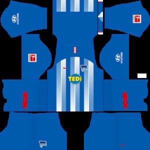 Dream League Soccer Hertha BSC home kit 2018 - 2019