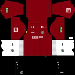 Hannover 96 home kit 2018 - 2019